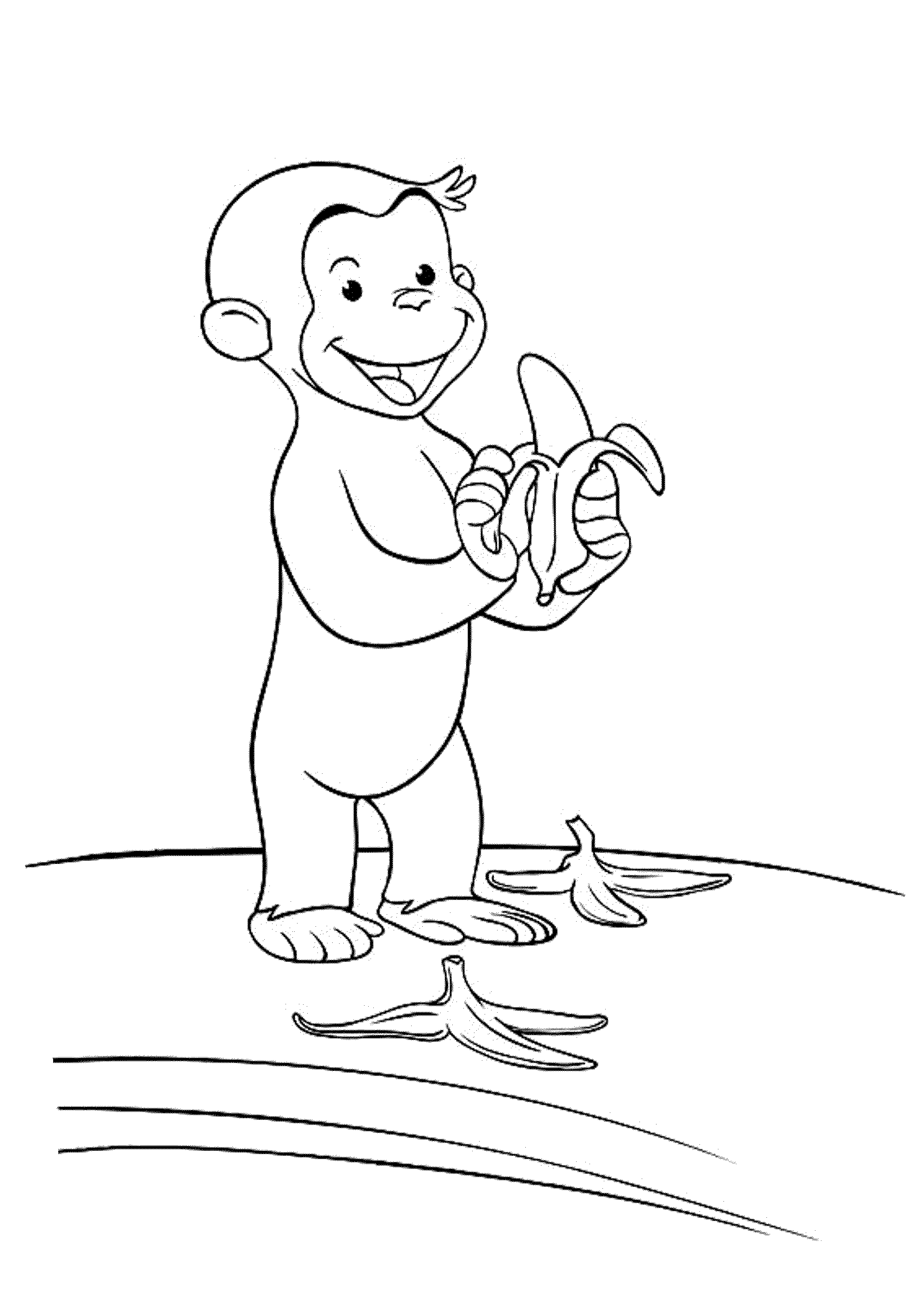 curious george coloring pages print download curious george coloring pages to curious george coloring pages