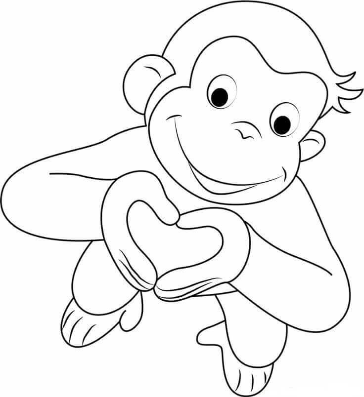 curious george coloring pages print download curious george coloring pages to pages curious george coloring