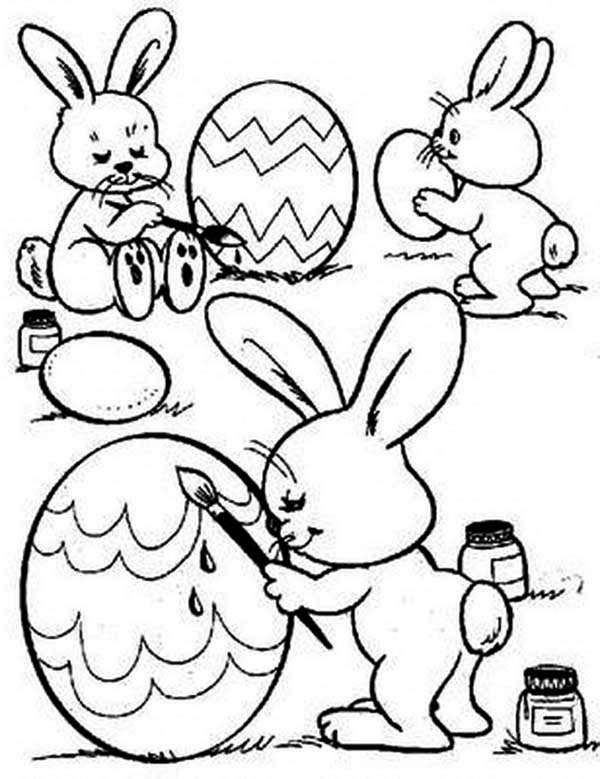 cute bunny coloring pages rabbits and bunnies a rabbit eating salad coloring page cute bunny coloring pages