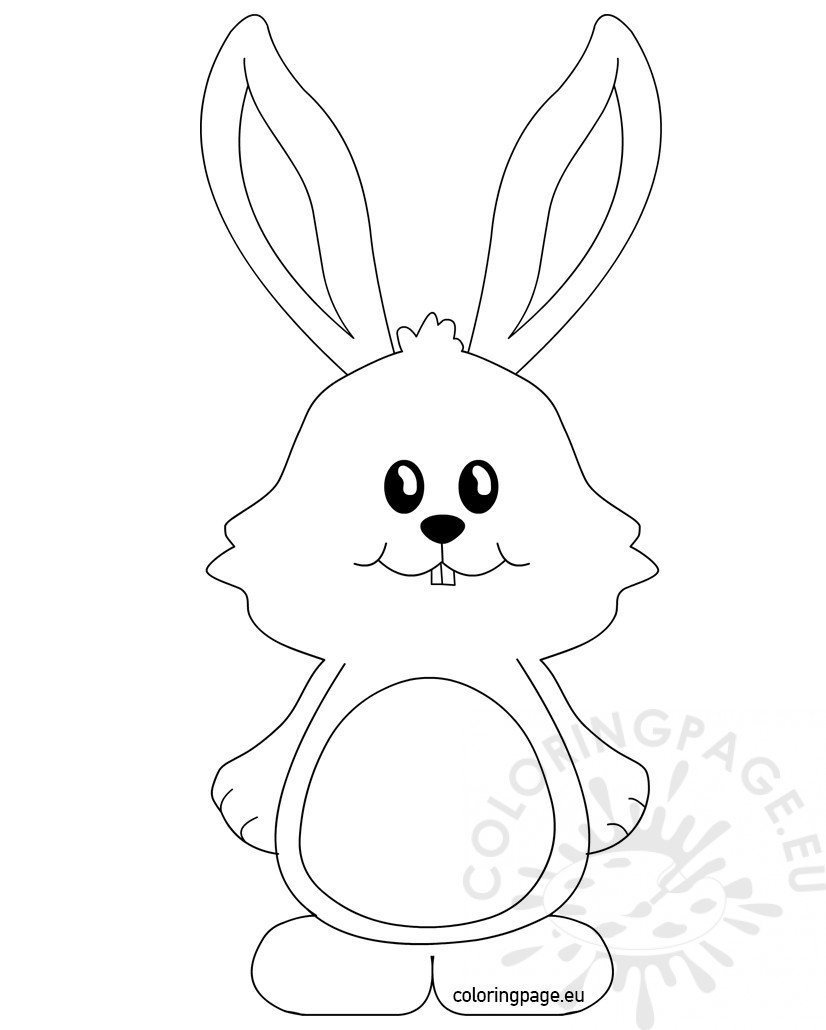 cute bunny coloring pages three cute bunnies decorating an easter eggs coloring page pages bunny cute coloring