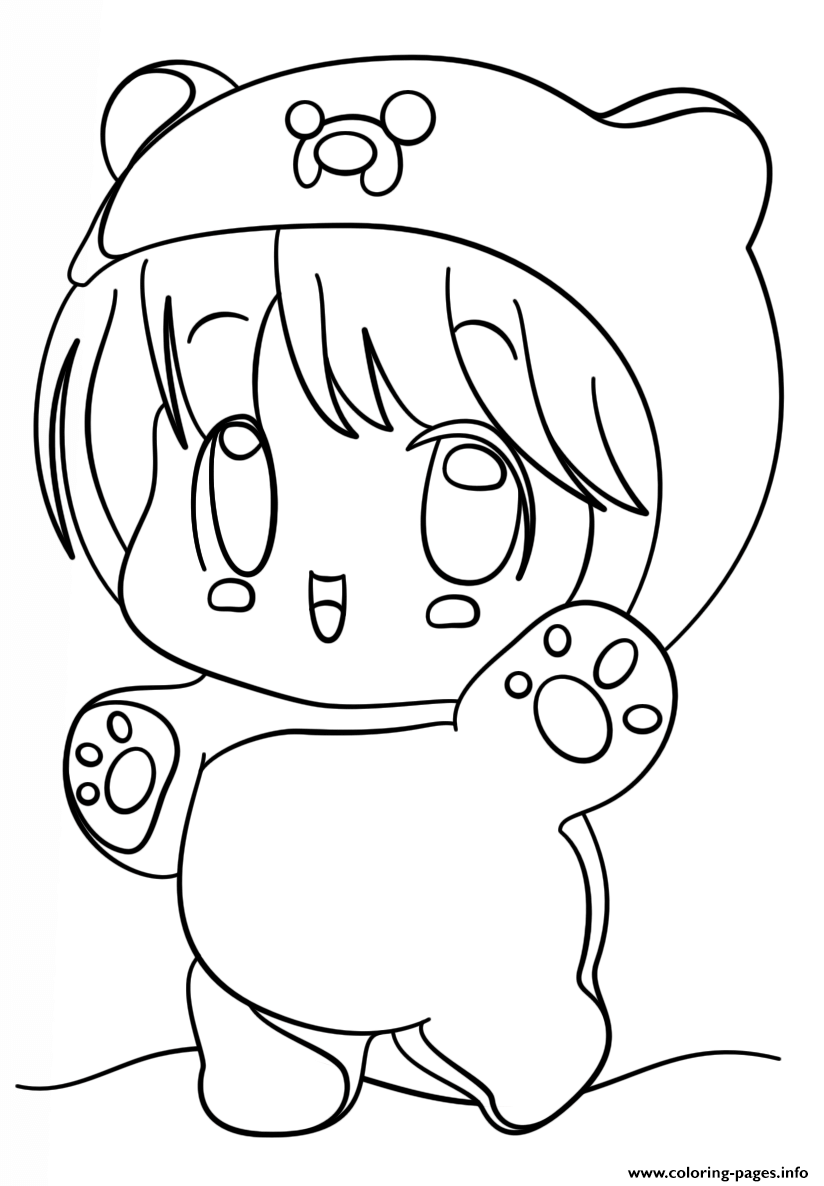 cute chibi girl coloring pages suitcase girl lineart by yampuff on deviantart chibi cute chibi coloring girl pages