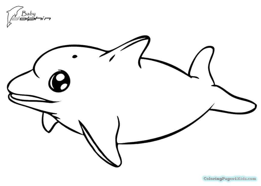 cute dolphin coloring pages cute dolphin coloring page free printable coloring pages dolphin cute coloring pages