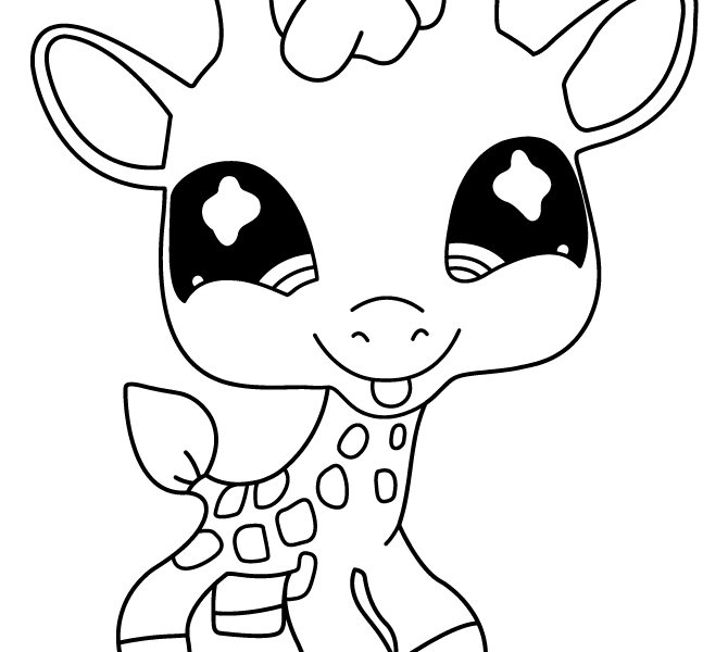 cute giraffe coloring pages baby giraffe coloring page svg files cameo silhouette giraffe pages coloring cute