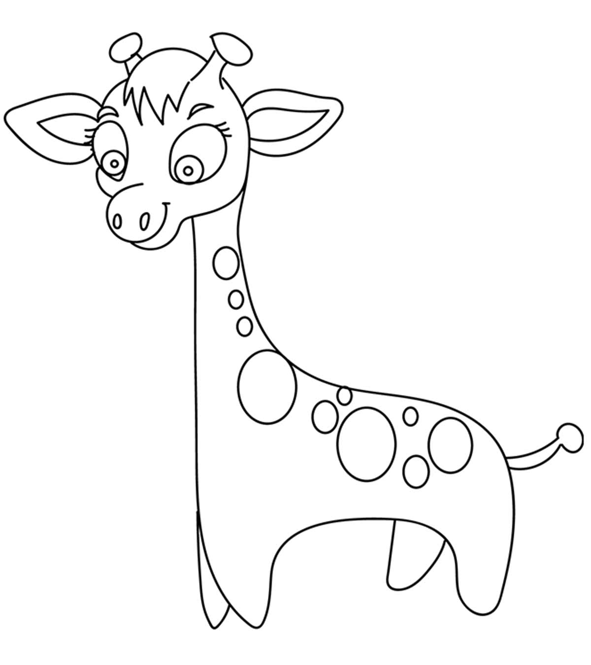cute giraffe coloring pages print download giraffe coloring pages for kids to have fun giraffe cute coloring pages