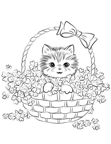 cute kittens coloring pages cute kitten drawing at getdrawings free download cute pages coloring kittens