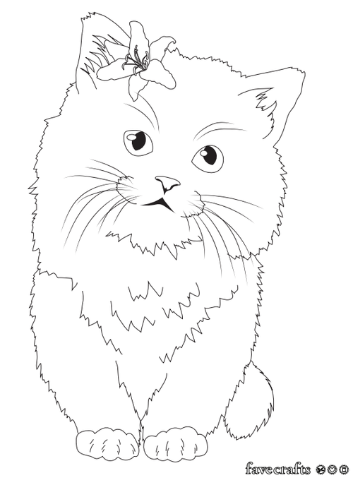 cute kittens coloring pages cute kitten printable coloring pages for kidsfree pages coloring kittens cute