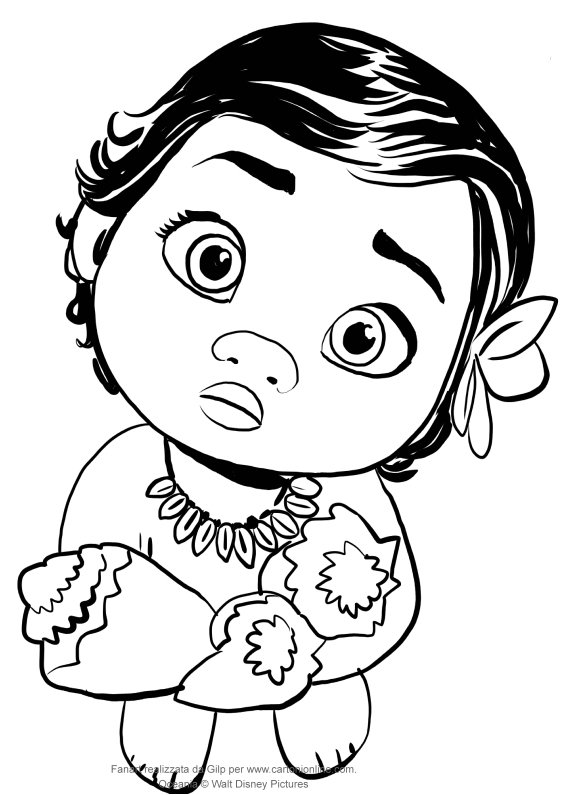 cute moana coloring pages coloring pages of moana at getcoloringscom free coloring moana cute pages