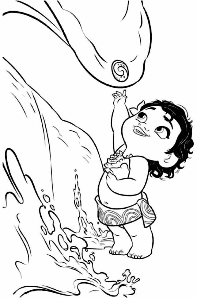 cute moana coloring pages moana coloring pages to print at getcoloringscom free cute coloring pages moana