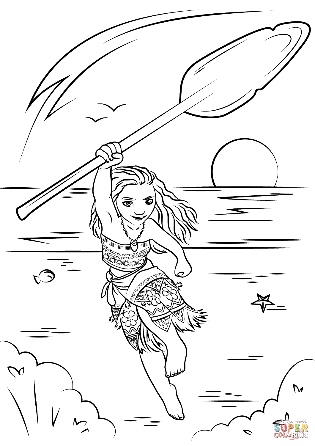 cute moana coloring pages moana from moana coloring page free coloring pages online pages moana coloring cute