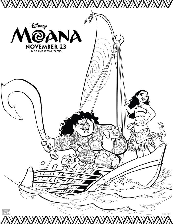 cute moana coloring pages pua moana pages coloring pages coloring moana cute pages