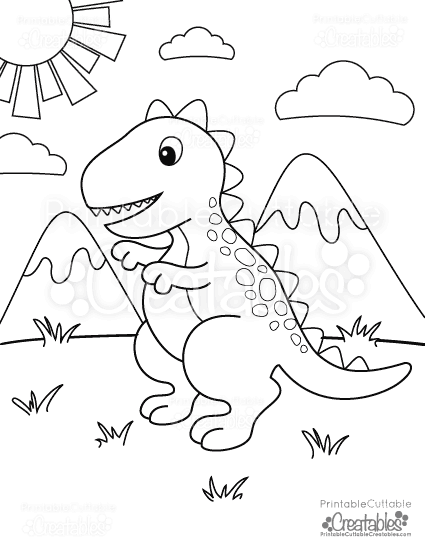 cute t rex dinosaur coloring pages free printable t rex dinosaur coloring page dinosaur t rex dinosaur coloring pages cute