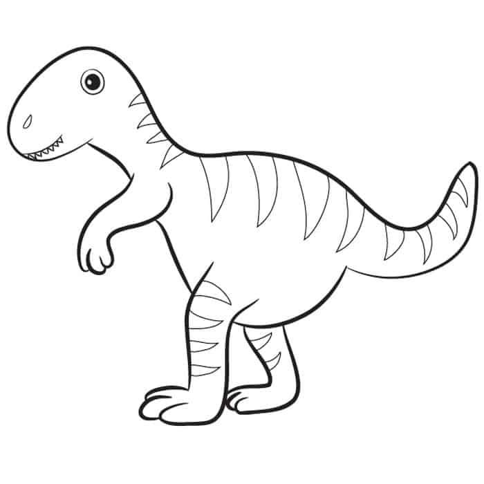cute t rex dinosaur coloring pages funny dinosaur t rex cartoon coloring pages for kids coloring pages dinosaur t rex cute