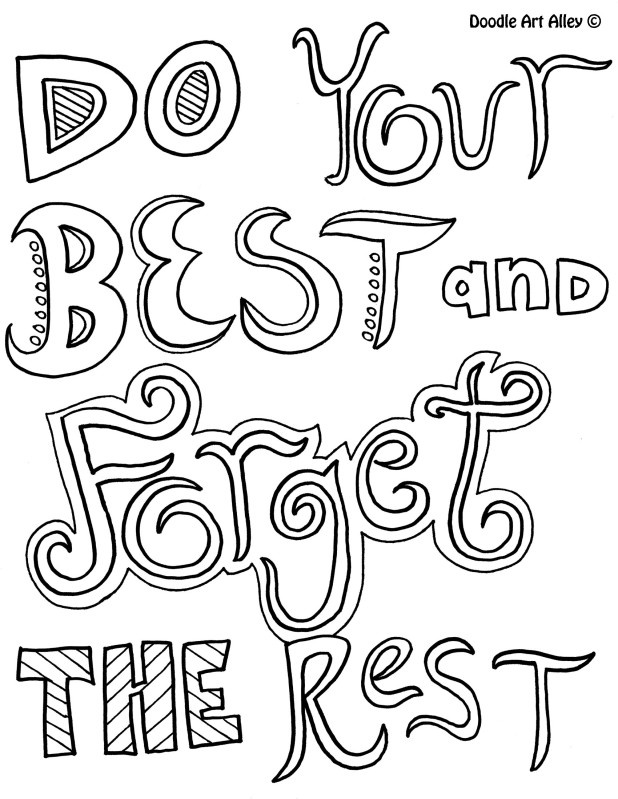 cute word coloring pages quotes coloring pages cute quotesgram cute coloring pages word