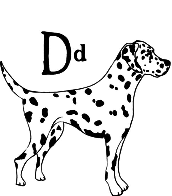 d for dog coloring page clipart outlined d is for dog coloring page royalty free d dog page for coloring