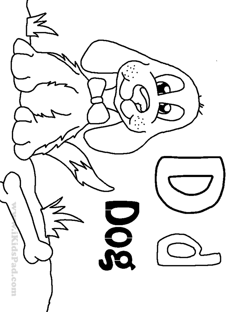 d for dog coloring page d is for dog coloring page free printable coloring pages d coloring dog page for