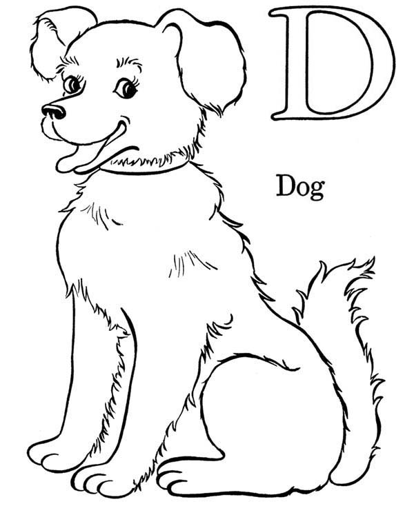 d for dog coloring page letter d coloring pages twisty noodle d dog coloring page for