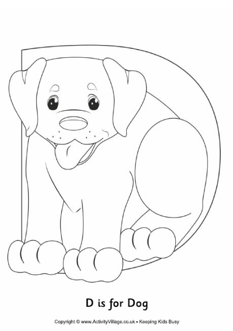 d for dog coloring page letter d is for dog coloring page free printable dog d coloring for page