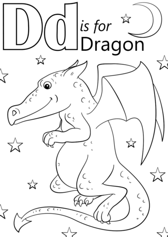 d for dog coloring page letter d is for dragon coloring page free printable page coloring d for dog