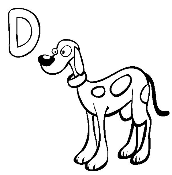 d for dog coloring page letter d is for duck coloring page free printable coloring dog for d page