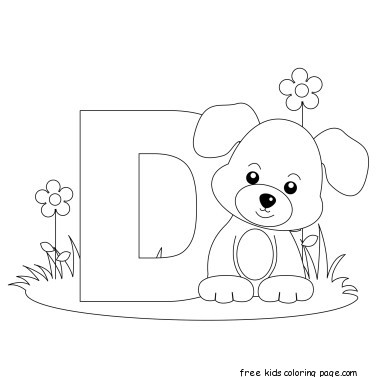 d for dog coloring page lower case letter d for deer coloring page lower case coloring dog d page for