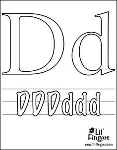 d for duck coloring page 1000 images about letter d on pinterest letter d for coloring page duck d