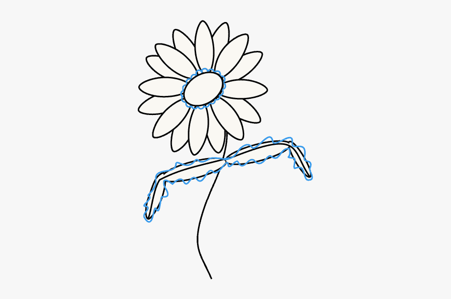 daisy flower cartoon pictures flowering daisy plant cartoon character pointing at daisy pictures cartoon flower
