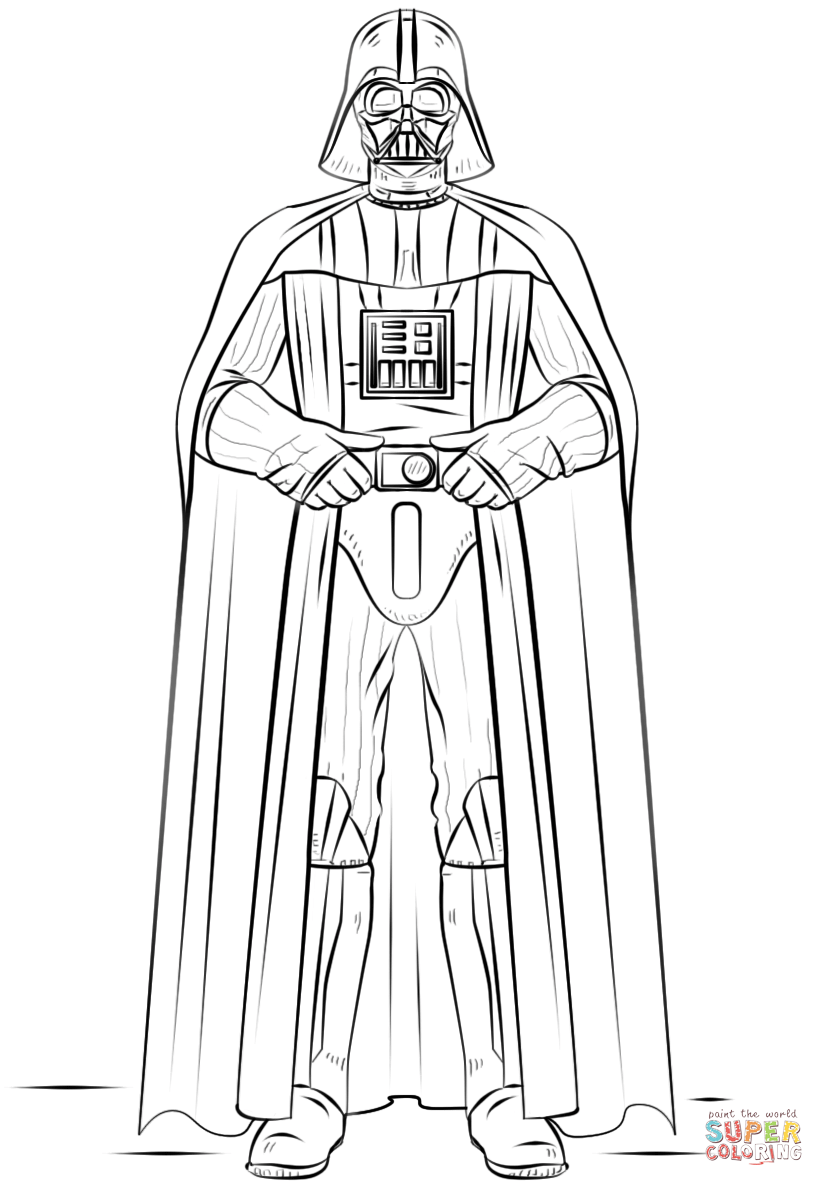 darth vader coloring page darth vader coloring pages best coloring pages for kids coloring darth vader page