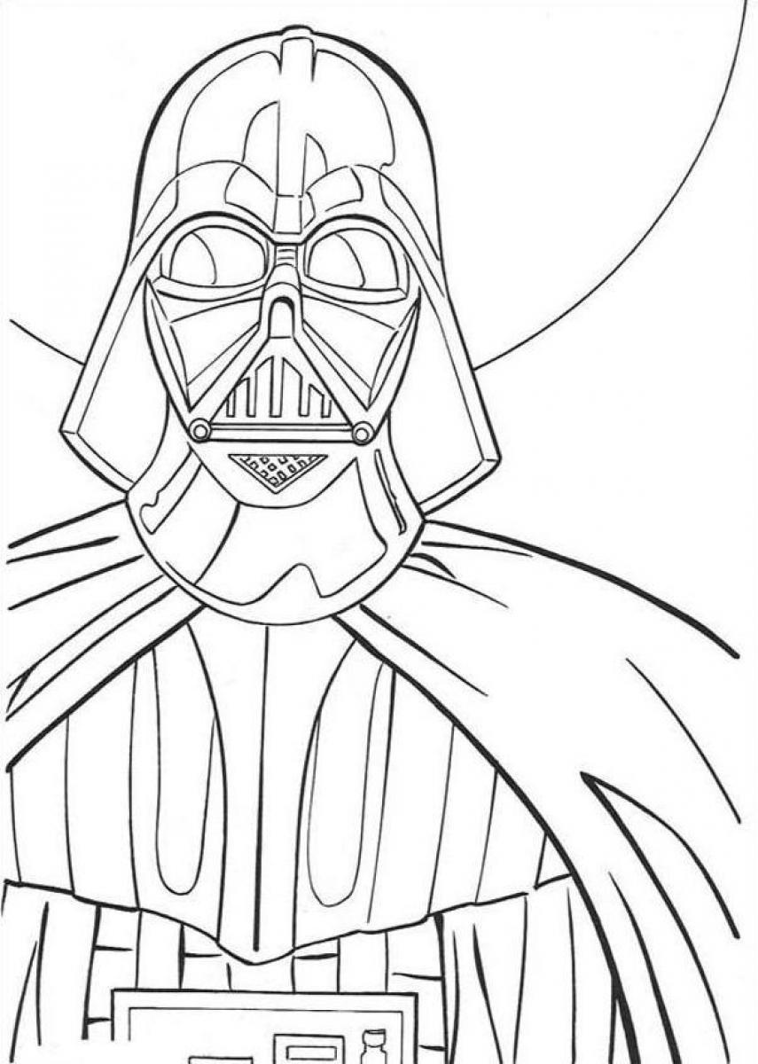 darth vader coloring pictures darth vader coloring pages for kids at getcoloringscom pictures vader coloring darth