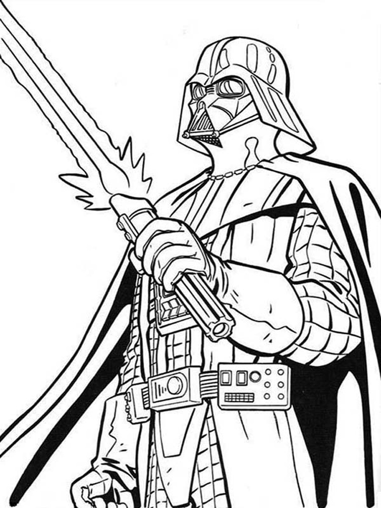 darth vader coloring pictures darth vader coloring pages to print coloring home coloring vader darth pictures