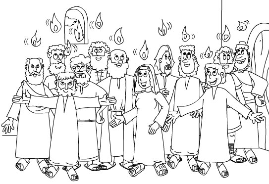 day of pentecost coloring sheet celebrate the giving of the law on sinai in pentecost day of pentecost coloring sheet
