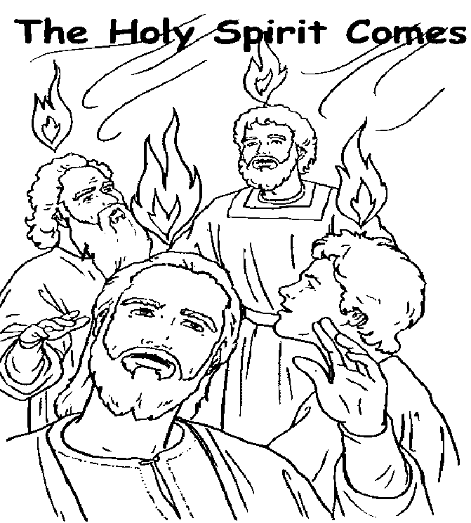 day of pentecost coloring sheet descent of the holy spirit at pentecost super coloring coloring day pentecost sheet of