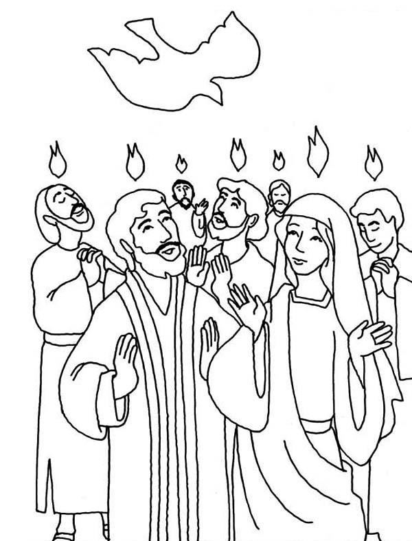 day of pentecost coloring sheet pentecost bible coloring page dia de pentecostes sheet day pentecost of coloring