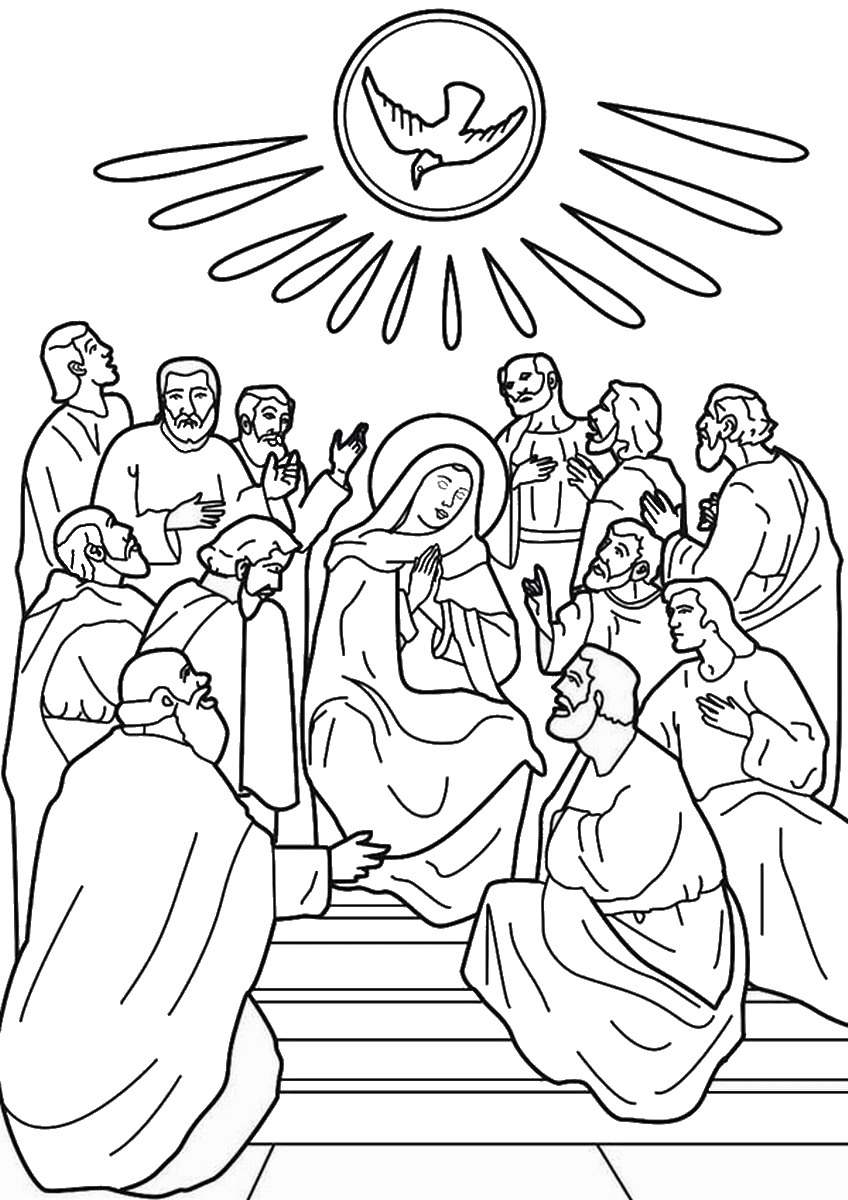 day of pentecost coloring sheet pentecost icon coloring page free printable coloring pages day pentecost coloring sheet of