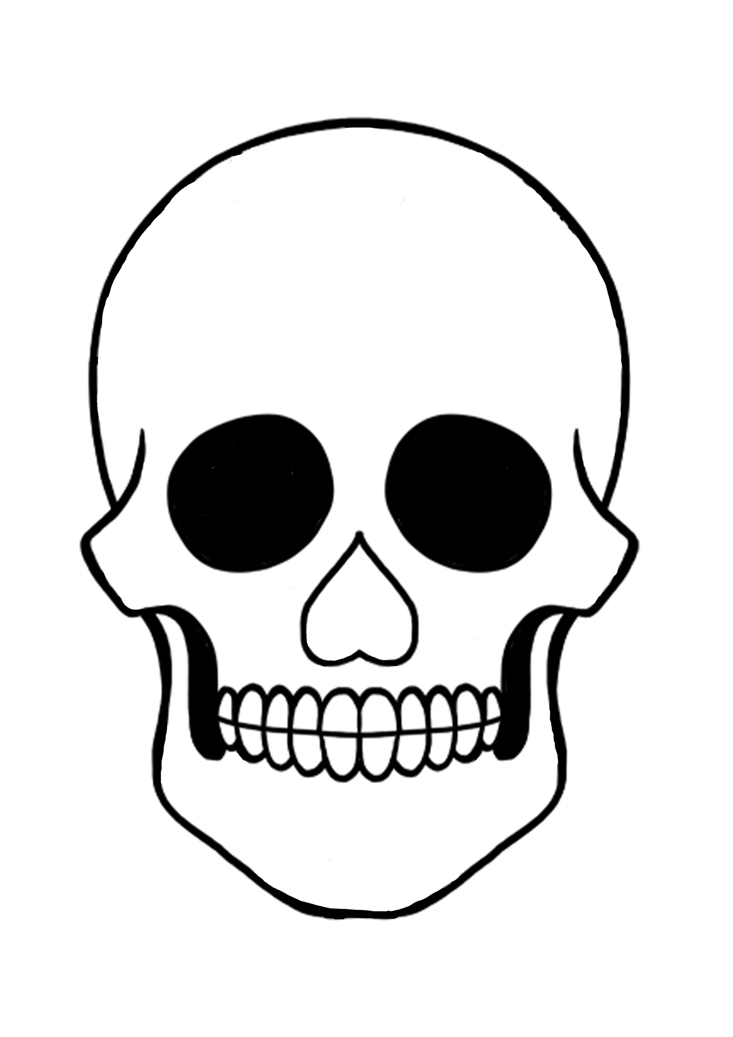 day of the dead skull outline fill in your skull with colours and flowers in celebration of skull the outline day dead