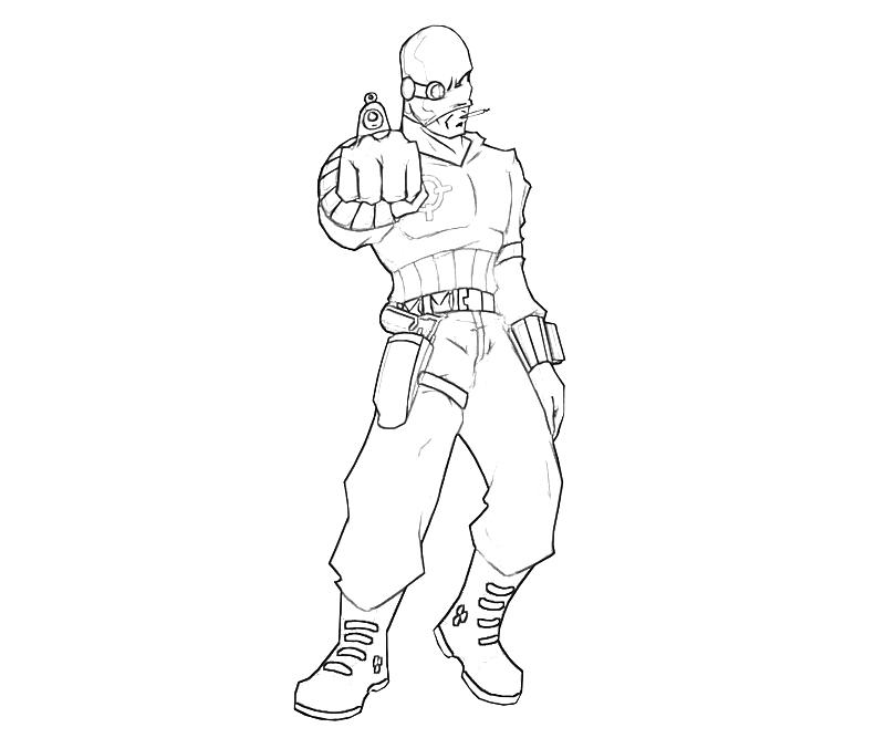 deadshot coloring pages costumes and redesigns deadshot comic vine coloring deadshot pages