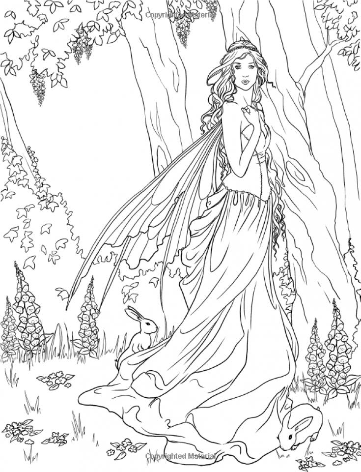 detailed beautiful fairy coloring pages beautiful coloring page fairy coloring coloring pages beautiful coloring fairy detailed pages