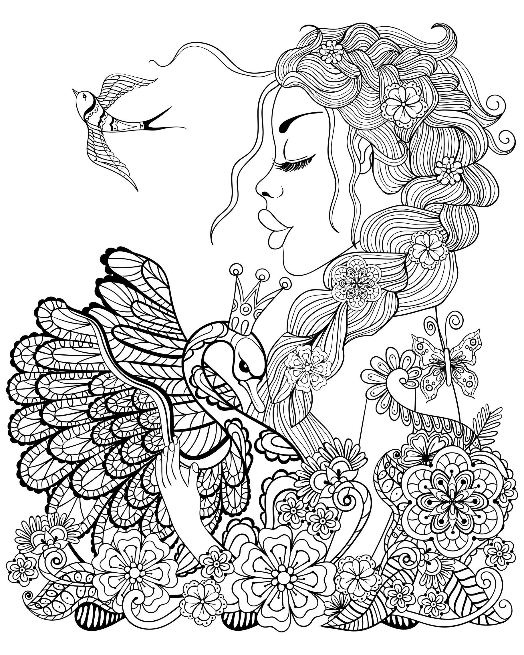 detailed beautiful fairy coloring pages beautifuldetailedfairycoloringpages court fairy 2 pages coloring detailed beautiful fairy
