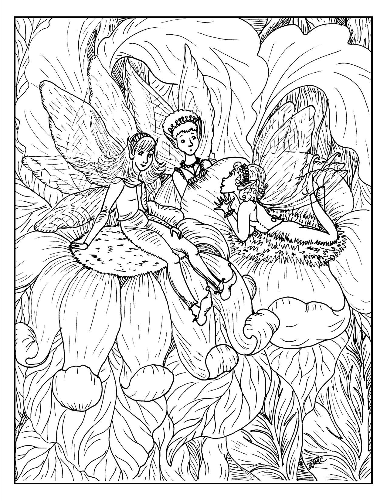 detailed beautiful fairy coloring pages detailed fairy coloring pages for adults color away coloring detailed pages beautiful fairy