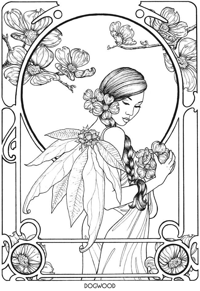 detailed beautiful fairy coloring pages intricate fairy coloring pages at getcoloringscom free beautiful coloring detailed pages fairy