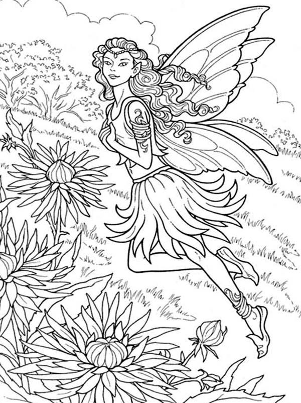 detailed beautiful fairy coloring pages printable beautiful fairy coloring pages fairies for coloring pages fairy detailed beautiful