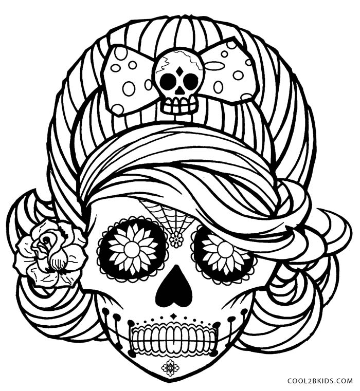 detailed skull coloring pages detailed skull coloring pages skull detailed coloring pages