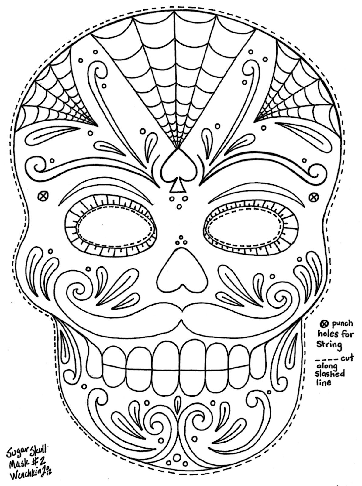 detailed skull coloring pages printable skull coloring pages ideas skull coloring pages skull detailed coloring
