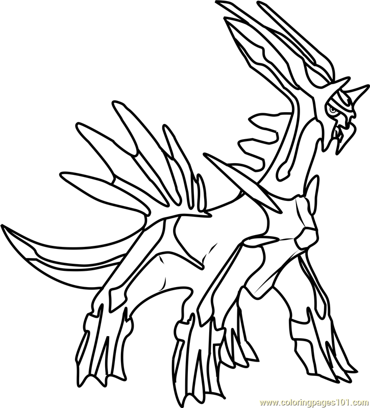 dialga coloring pages lineart of dialga by inukawaiilover on deviantart dialga pages coloring