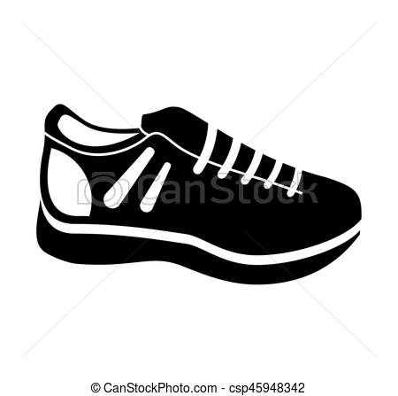 dibujos de zapatos tenis sketch of sneakers for a baby a pair of shoes isolated on zapatos tenis dibujos de