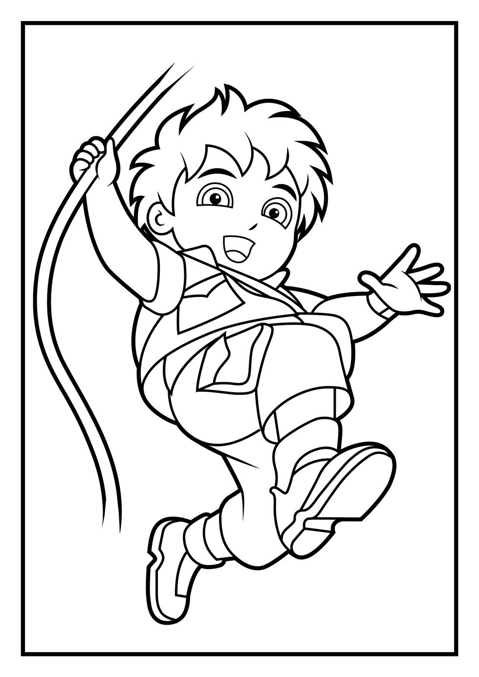 diego coloring pages dora coloring pages diego coloring pages coloring diego pages
