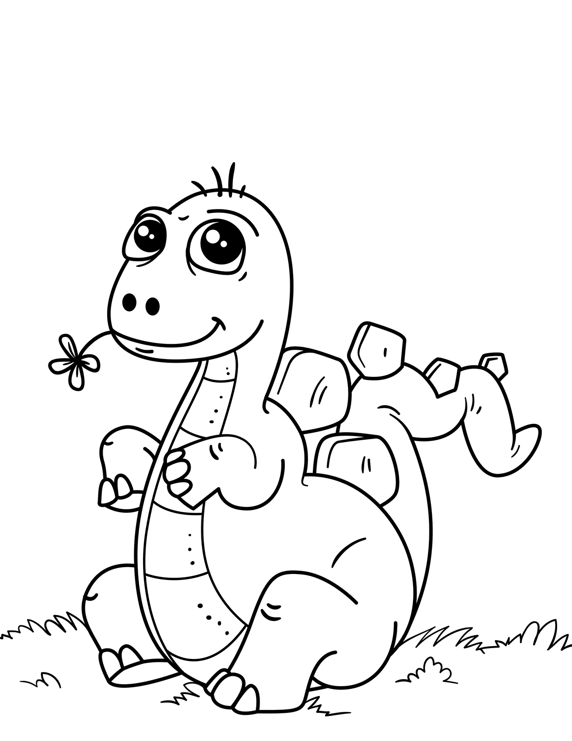 dinosaur coloring image baby dinosaur coloring pages to download and print for free dinosaur image coloring