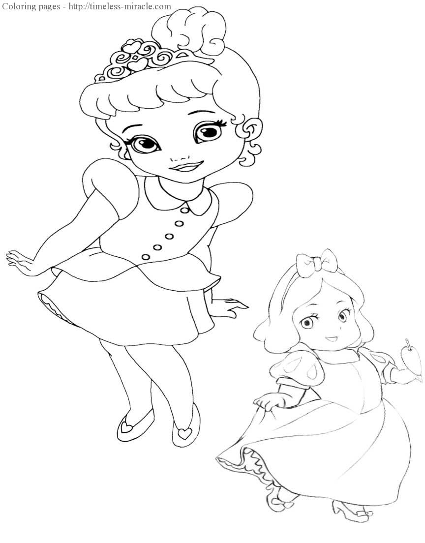 disney baby princess coloring pages awesome baby disney princess coloring pages collection disney pages baby coloring princess