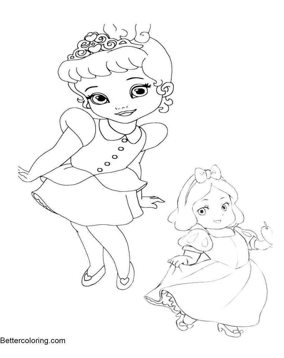 disney baby princess coloring pages baby jasmine coloring pages at getcoloringscom free princess coloring baby pages disney