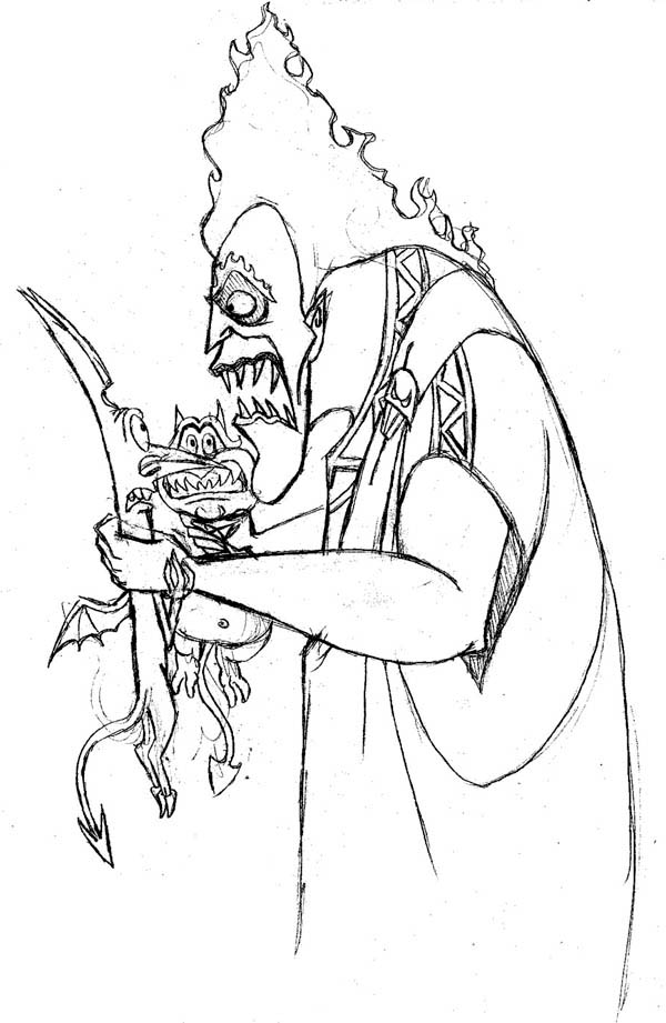 disney hades coloring page hades angry coloring pages also see the category to find disney hades coloring page