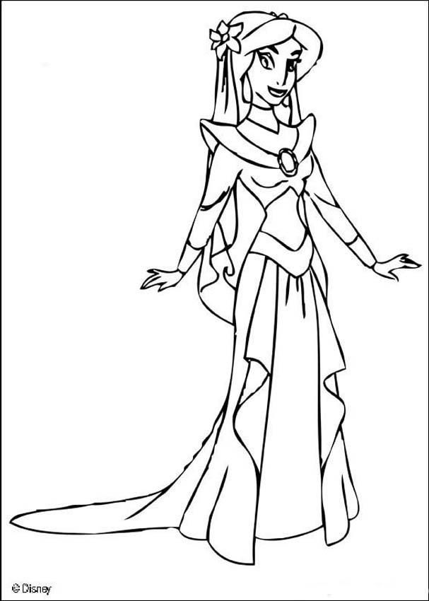 disney princess jasmine coloring pages coloring page about aladdin disney movie drawing about princess coloring jasmine pages disney